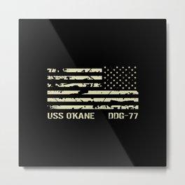 USS O'Kane Metal Print