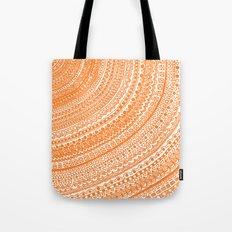 Orange Pulse o3. Tote Bag