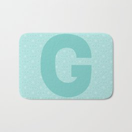 Starts with G again Bath Mat