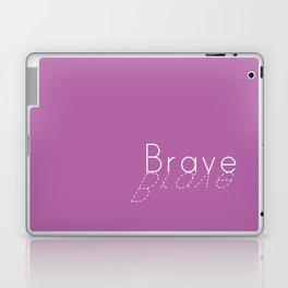 Brave bold Laptop & iPad Skin