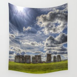 Stonehenge Summer Wall Tapestry
