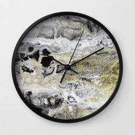 Fluid Lace Wall Clock