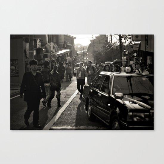 Streets of Kiyomizu Temple, Kyoto Canvas Print