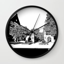 bloomington III Wall Clock
