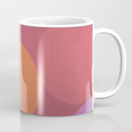Sunset Shadows Moon Coffee Mug