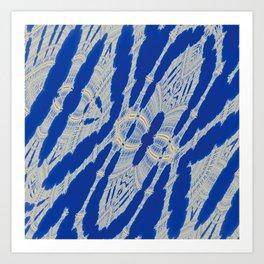 Fractal Macrame Art Print
