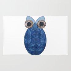 The Denim Owl Rug