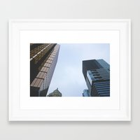 vancouver Framed Art Prints featuring Vancouver by CouveCollective