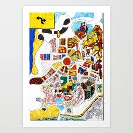Intamicity Art Print