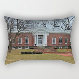 Lake Erie College Kilcawley Hall Rectangular Pillow