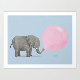 Jumbo Bubble II Art Print
