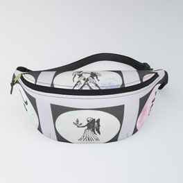 Twelve Zodiac Signs Fanny Pack
