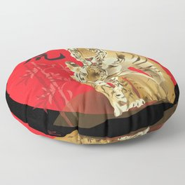 The Year of the Tiger Floor Pillow