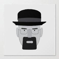 Heisenberg, he is the one who knocks. Canvas Print