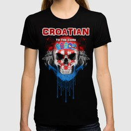 To The Core Collection: Croatia T-shirt