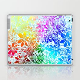 Flying Through Rainbows Laptop & iPad Skin