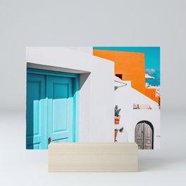 Apartment 539 | Santorini, Greece Mini Art Print