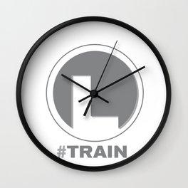NY MTA Subway L Train Line Wall Clock