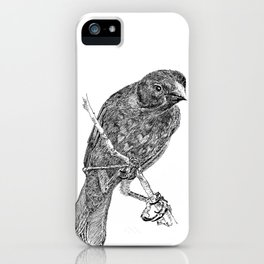 Lovely Bird iPhone Case