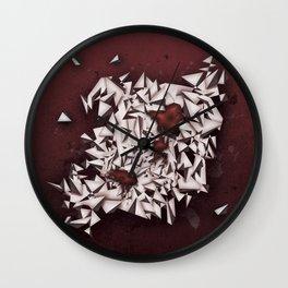 Rubies Wall Clock
