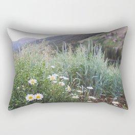 Daisies in Aspen Rectangular Pillow