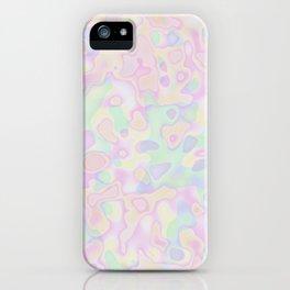 Illuminated Globs iPhone Case