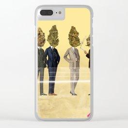 Gentlemen's Smoking Club Clear iPhone Case