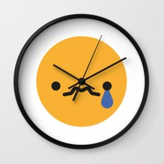 Emojis: Sad Wall Clock