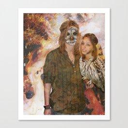Owl Queen Canvas Print