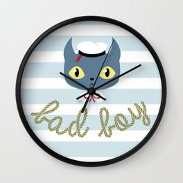 Bad boy Wall Clock