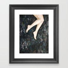 The Smallest Oceans Framed Art Print