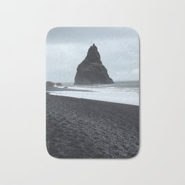 Black Sand Beach - Iceland Bath Mat