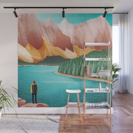 DREAM VACATION / Alberta, Canada Wall Mural