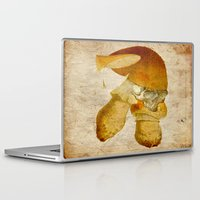 mortal instruments Laptop & iPad Skins featuring Mortal mushroom by Ganech joe