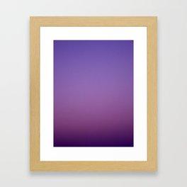 Gloaming Gradient II Framed Art Print