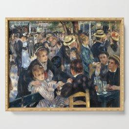 Auguste Renoir -Bal du moulin de la galette, Dance at Le moulin de la Galette Serving Tray