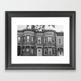 61st Street Framed Art Print