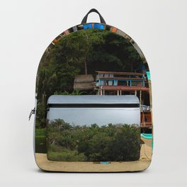 Dreamy Mexican Beach Day Backpack