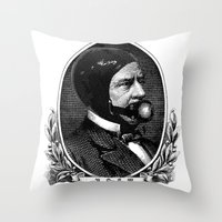 bdsm Throw Pillows featuring BDSM XV by DIVIDUS