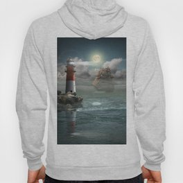 Lighthouse Under Back Light Hoody