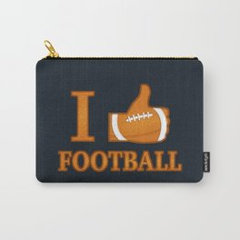I Like Football Carry-All Pouch