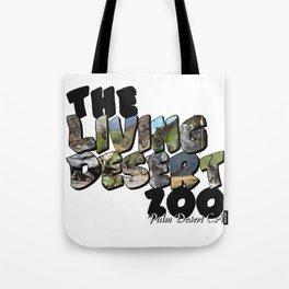 The Living Desert Zoo Big Letter Tote Bag
