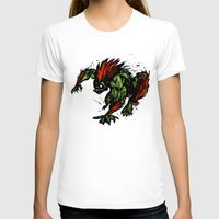 street fighter T-shirts featuring Blanka Rush! - Street Fighter by Peter Forsman