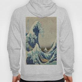 Vintage poster - The Great Wave Off Kanagawa Hoody