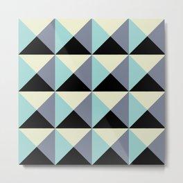 Volume blue wall Metal Print