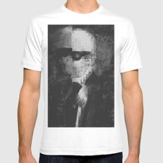 Karl Lagerfeld Star Futurism Limited Mens Fitted Tee SMALL White