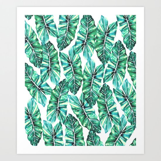 Leafy Wonder #society6 #decor #buyart Art Print