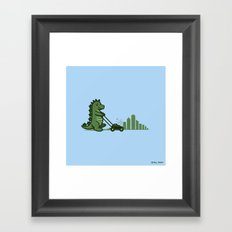 Mowtown Framed Art Print
