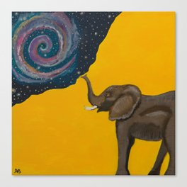 Elephant Magic Canvas Print