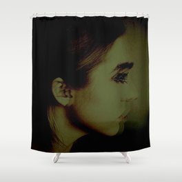 Looking Away Shower Curtain